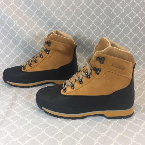 96a8187b0fa Timberland Men's Euro Hiker Shell Toe Boots NWT